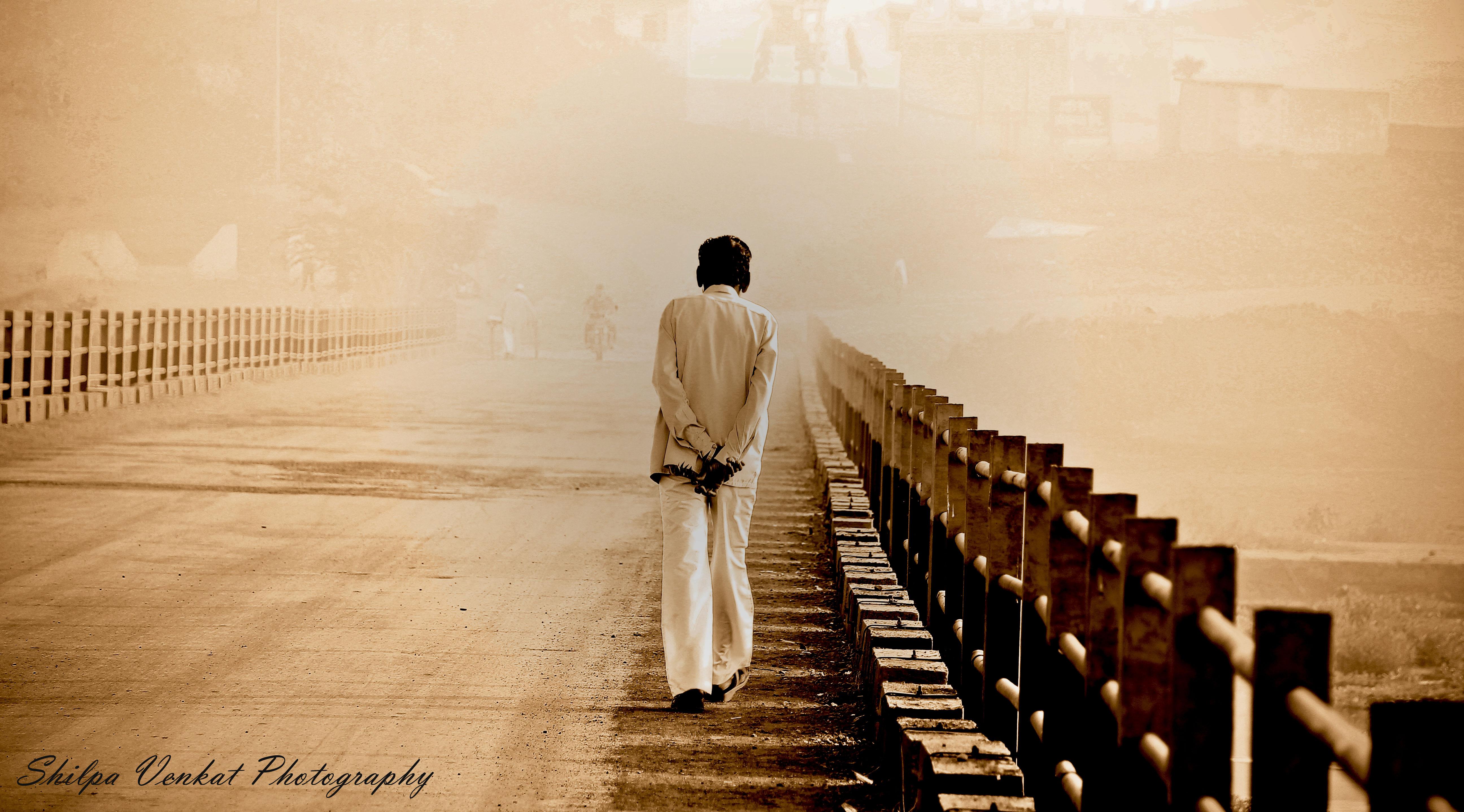 Shiilpa Venkat A walk alone