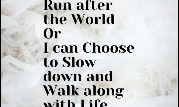 Walk along with Life