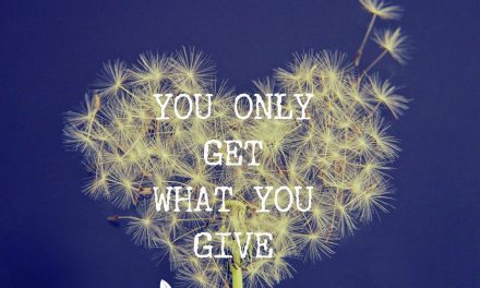 You Only Get What You Give